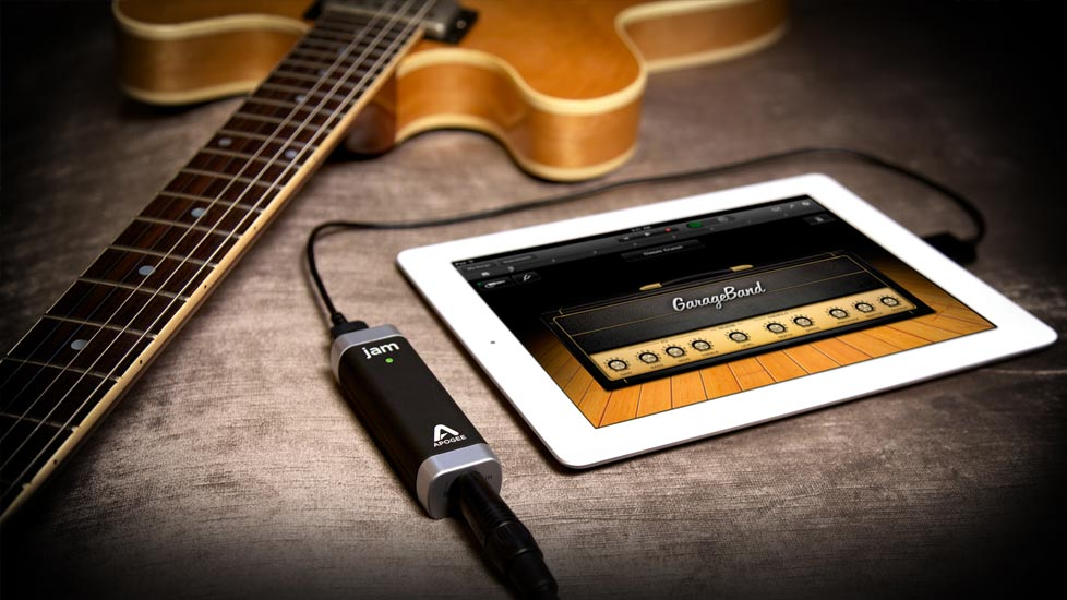 iPad, Apogee Jam, Guitar